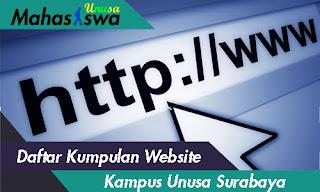 web unusa surabaya