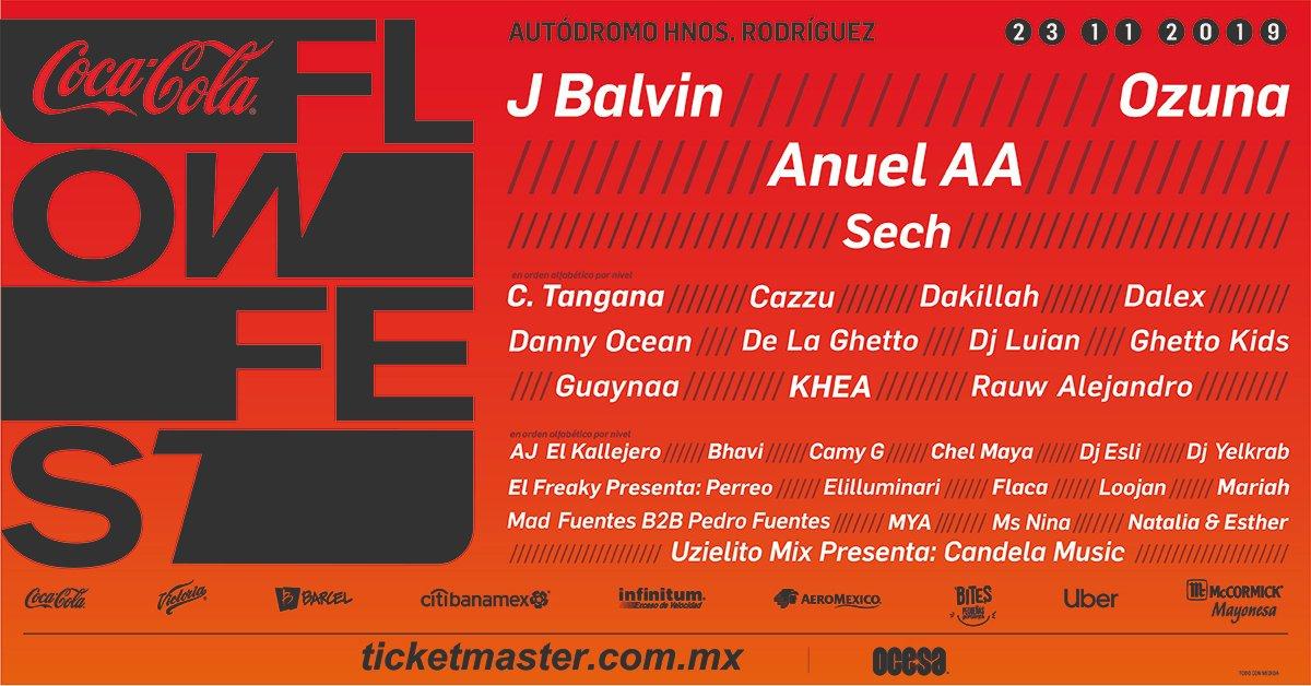 Coca Cola Flow Fest 2019 23 de Noviembre
