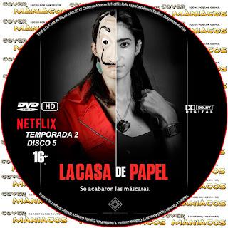 GALLETA 5 [SERIE TV] LA CASA DE PAPEL TEMPORADA 2