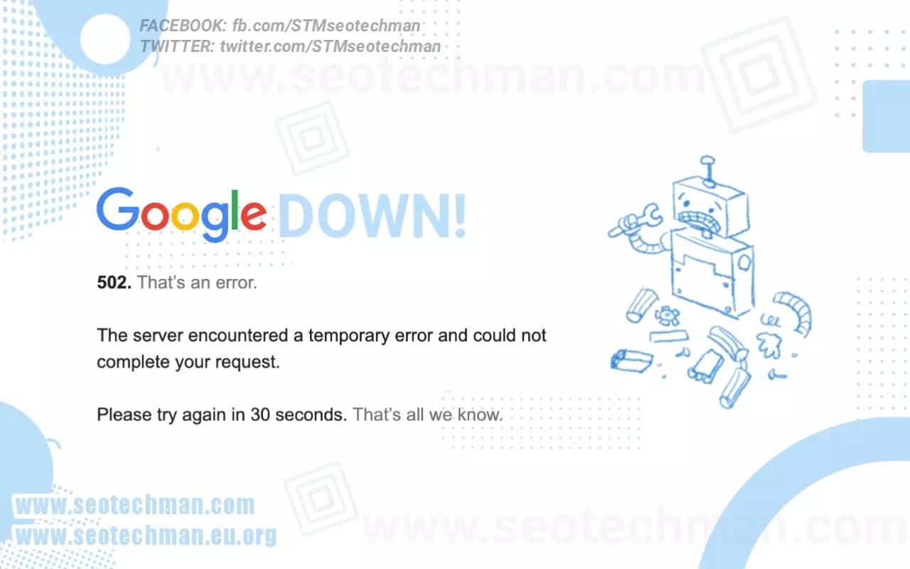 Penyebab Google Down