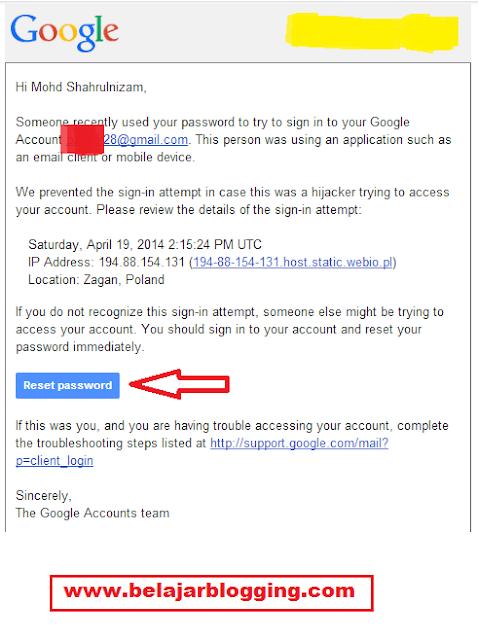 Apa Harus Dilakukan Email Kena Godam?