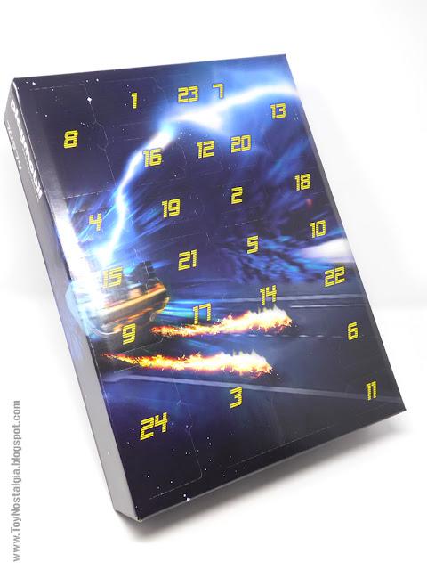 Caja Interior con puertas sorpresa Playmobil Volver al Futuro - Calendario de Adviento (Playmobil Back To The Future - Calendario de Adviento)
