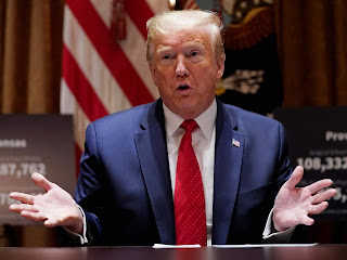 They keep abortion centers open but places of worship closed' Trump says as he orders governors to permit places of worship to reopen immediately