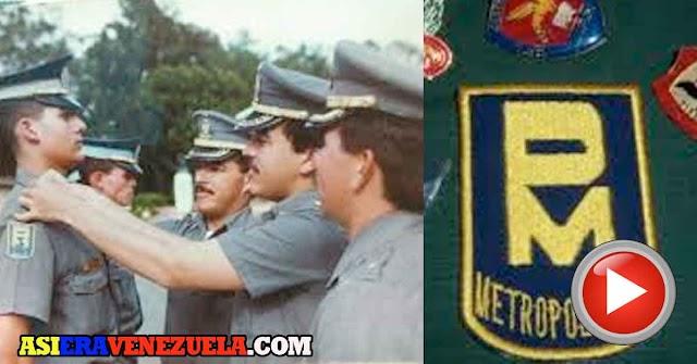 Comercial de la Policía Metropolitana de los años 80