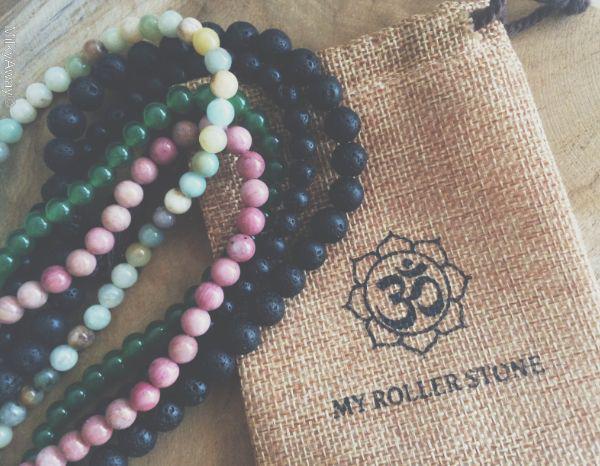 Les perles rondes en pierres naturelles de My Roller Stone
