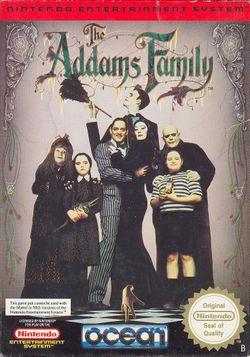 Capa do jogo The Addams Family para Snes