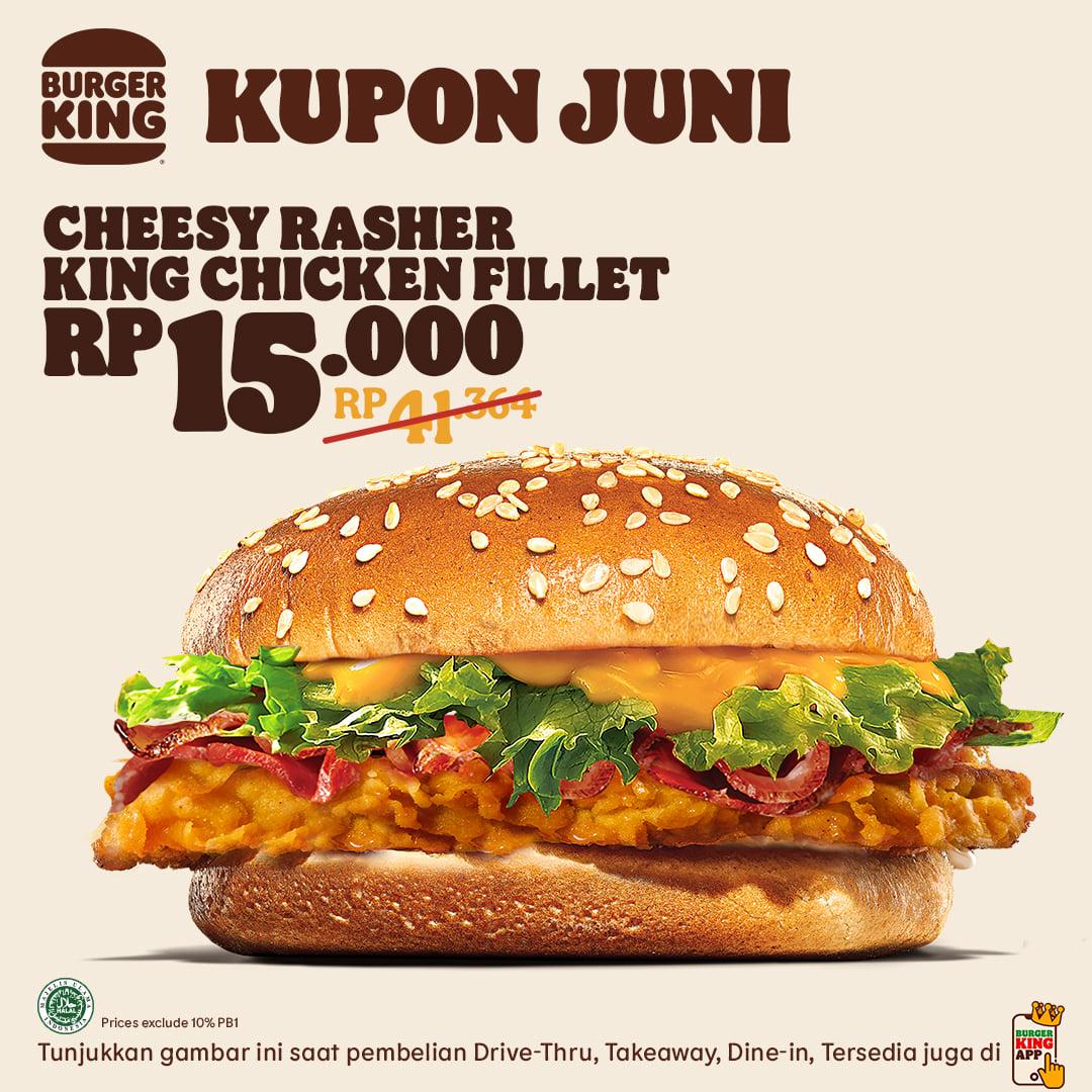 Promo Kupon Burger King JUNI 2021