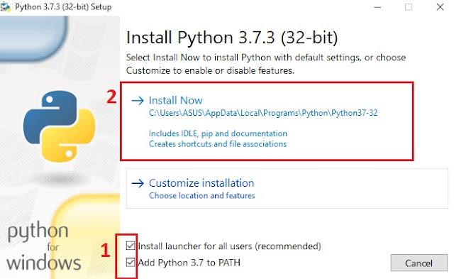 Instalasi Python