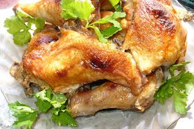 запеченная в духовке курица