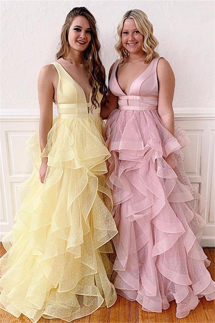 https://www.27dress.com/p/floor-length-straps-v-neck-ruffles-charming-polk-dot-tulle-prom-dresses-110211.html