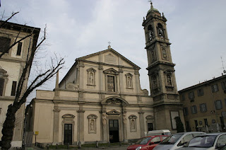 The Basilica of Santo Stefano Maggiore in Milan, the scene of Galeazzo Maria Sforza's assassination