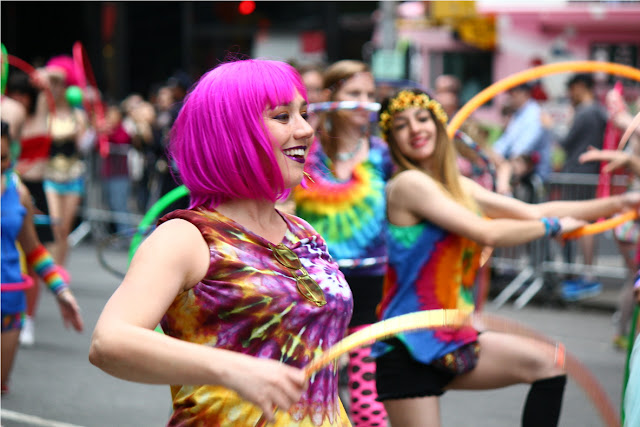imágenes del desfile de la danza y festival en Nueva York (NYC Dance Parade) 2017