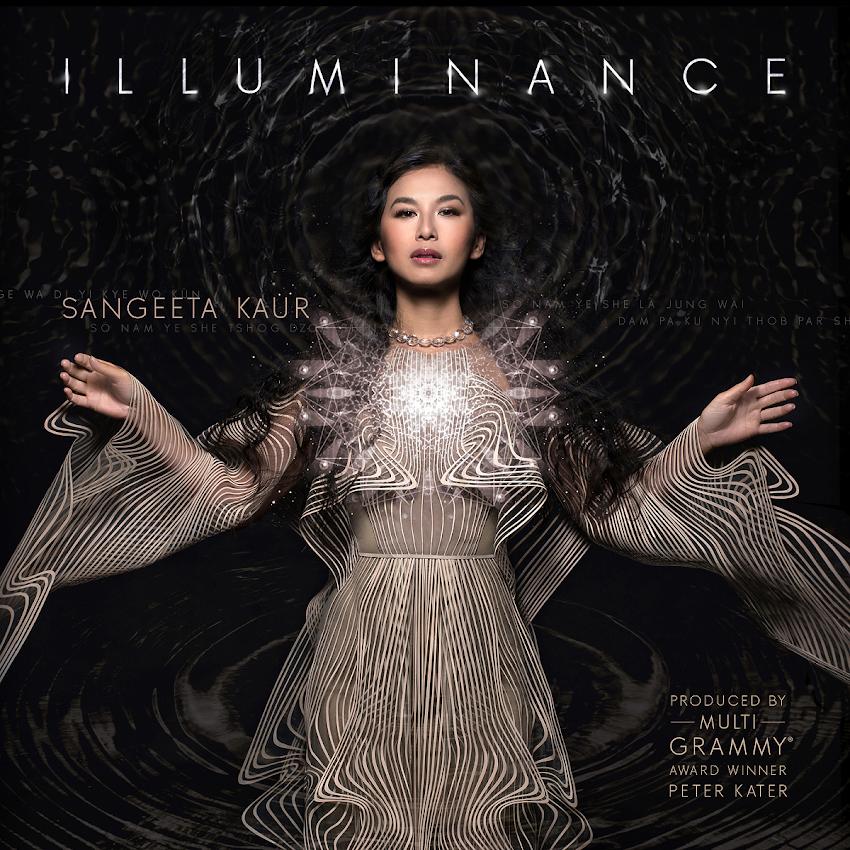"""""""Illuminance"""", el nuevo álbum de música sanadora de la excelsa cantante Sangeeta."""