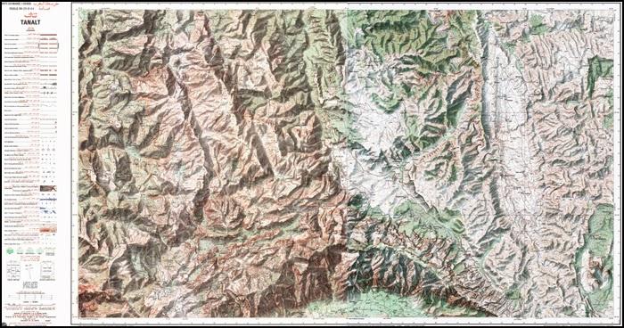 Carte du Jebel Lekst