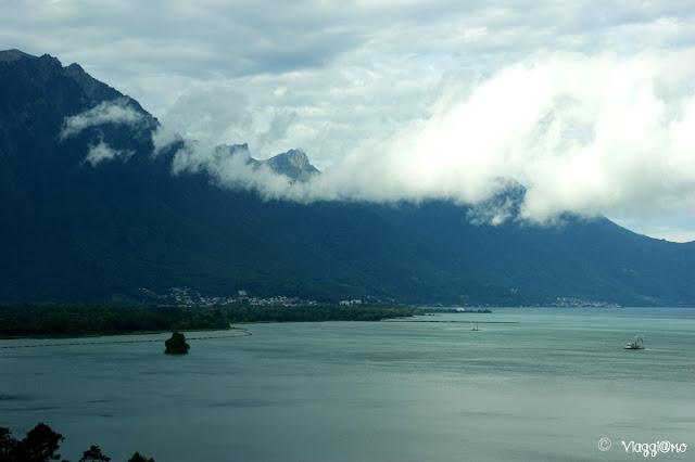 Vista sul Lago di Ginevra