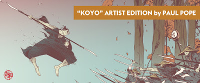 Kōyō Artist Edition Screen Print by Paul Pope x Nakatomi