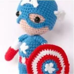Capitán América a Crochet