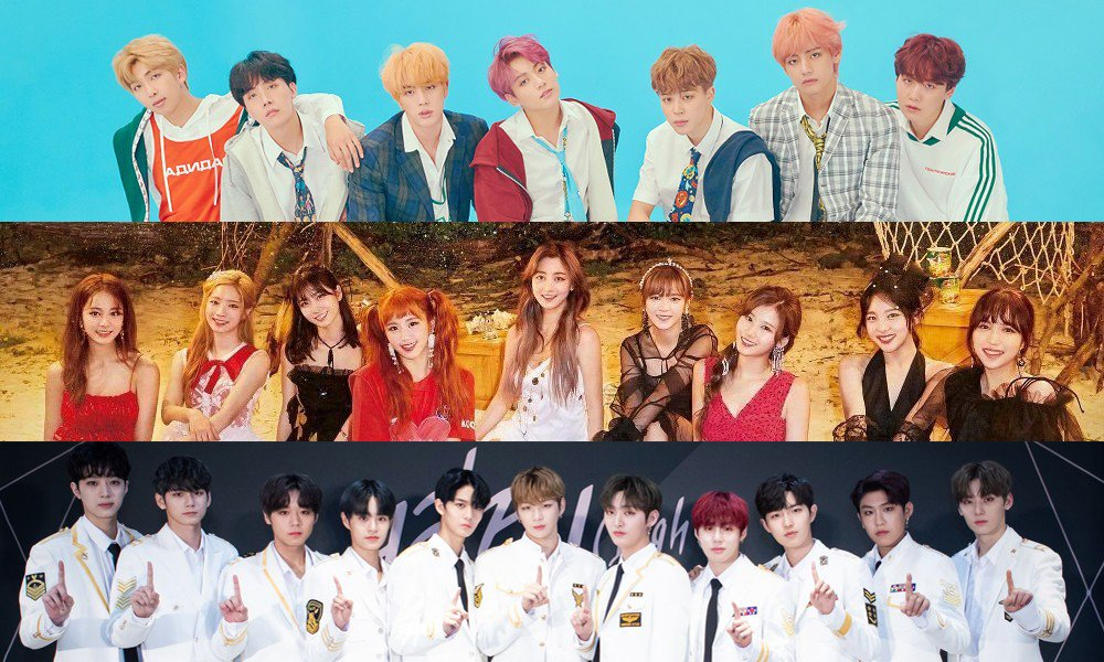 Mbc Plus X Genie Music Awards Announces Bts Twice Wanna One As First Lineup Of Performing Artists