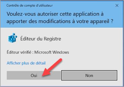 Afficher, message, démarrage, Windows 10, base de registre, trucs et astuces
