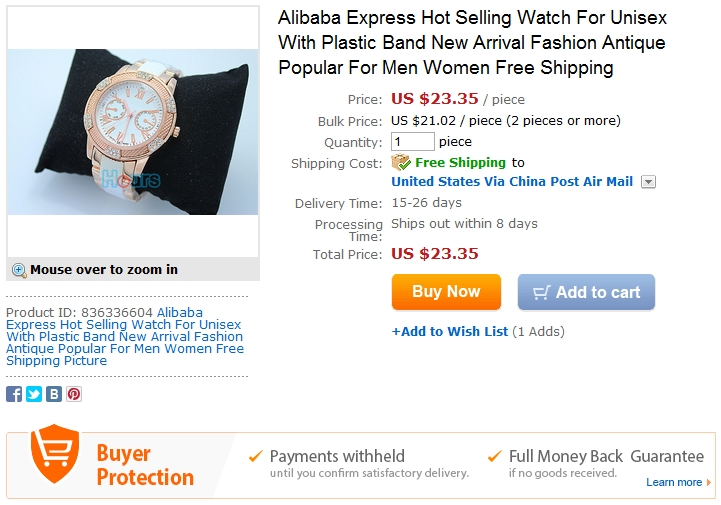 Alibaba Express Hot Selling GUESS Watch For Unisex With Plastic Band