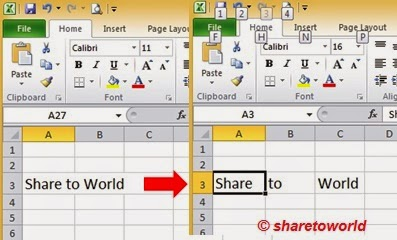 How to Separate Text in Columns in Ms. Excel 2010