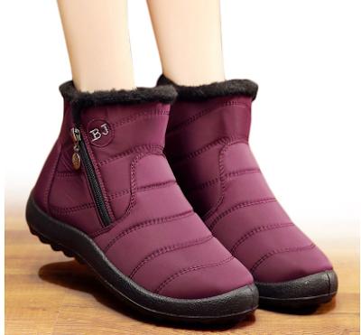 JIASHA 270-1 Warm Plush Snow Boots