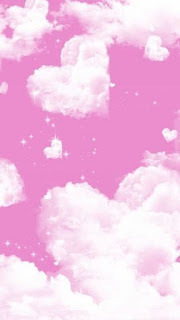 Wallpaper wa awan pink