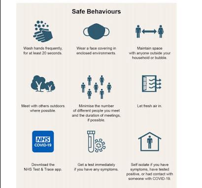UK Government Safe Behaviours