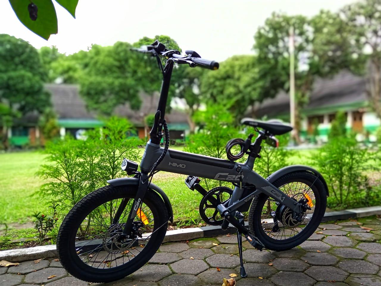 Desain Sepeda Xiaomi HIMO C20