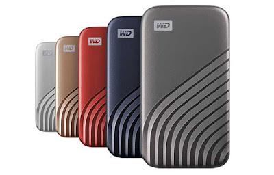 Wester Digital merilis WD My Passport SSD 4TB
