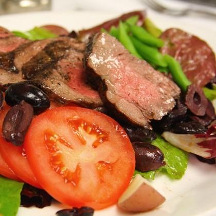 Grilled Steak Salad Niçoise