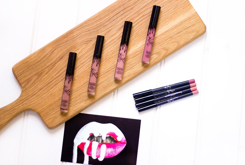 Kylie Cosmetics Liquid Lipstick, Kylie Cosmetics Candy K, Kylie Cosmetics Dolce K, Kylie Cosmetics Koko K, Kylie Cosmetics Posie K
