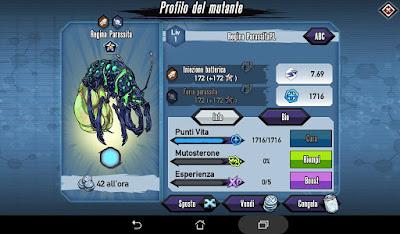 Mutants: Genetic Gladiators video N°374 Fusion Parasite Queen - Fusione Regina Parassita