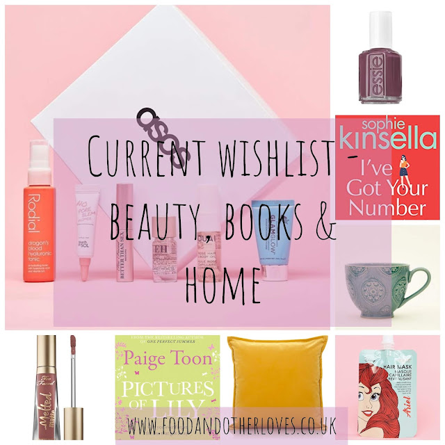 My Current Wishlist - Beauty, Books & Home