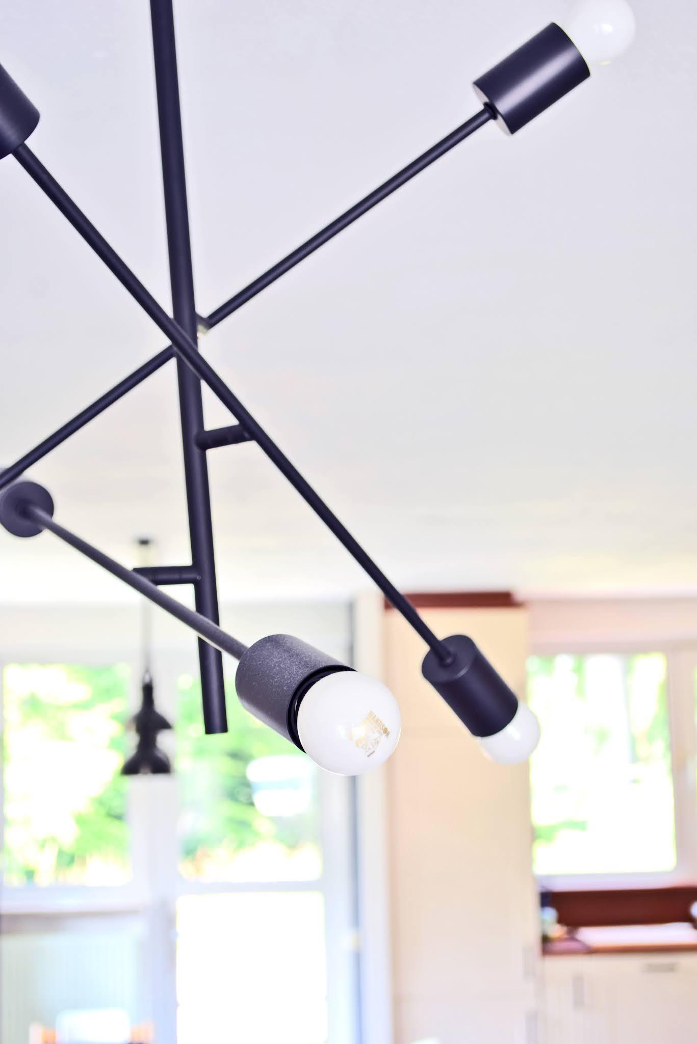 nowoczesne oświetlenie pokoju dziennego