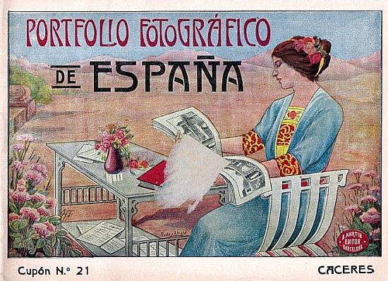 CÁCERES en 1910. PORTFOLIO FOTOGRÁFICO DE ESPAÑA