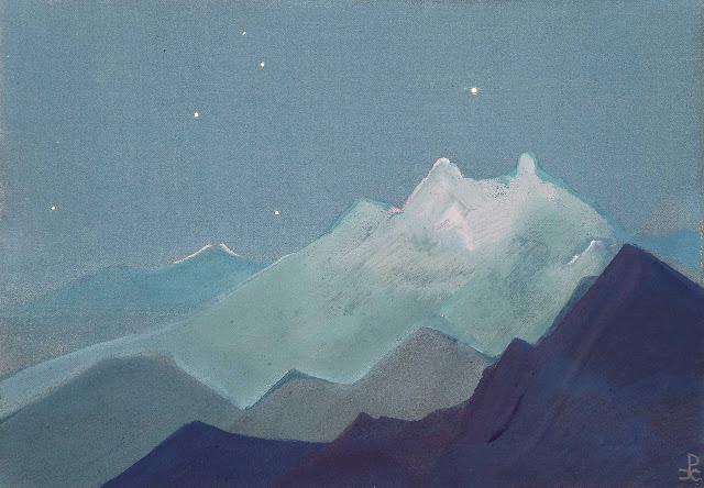 Николай Рерих - Гималаи (Лунные горы)