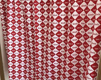 Coca Cola Kitchen Curtains