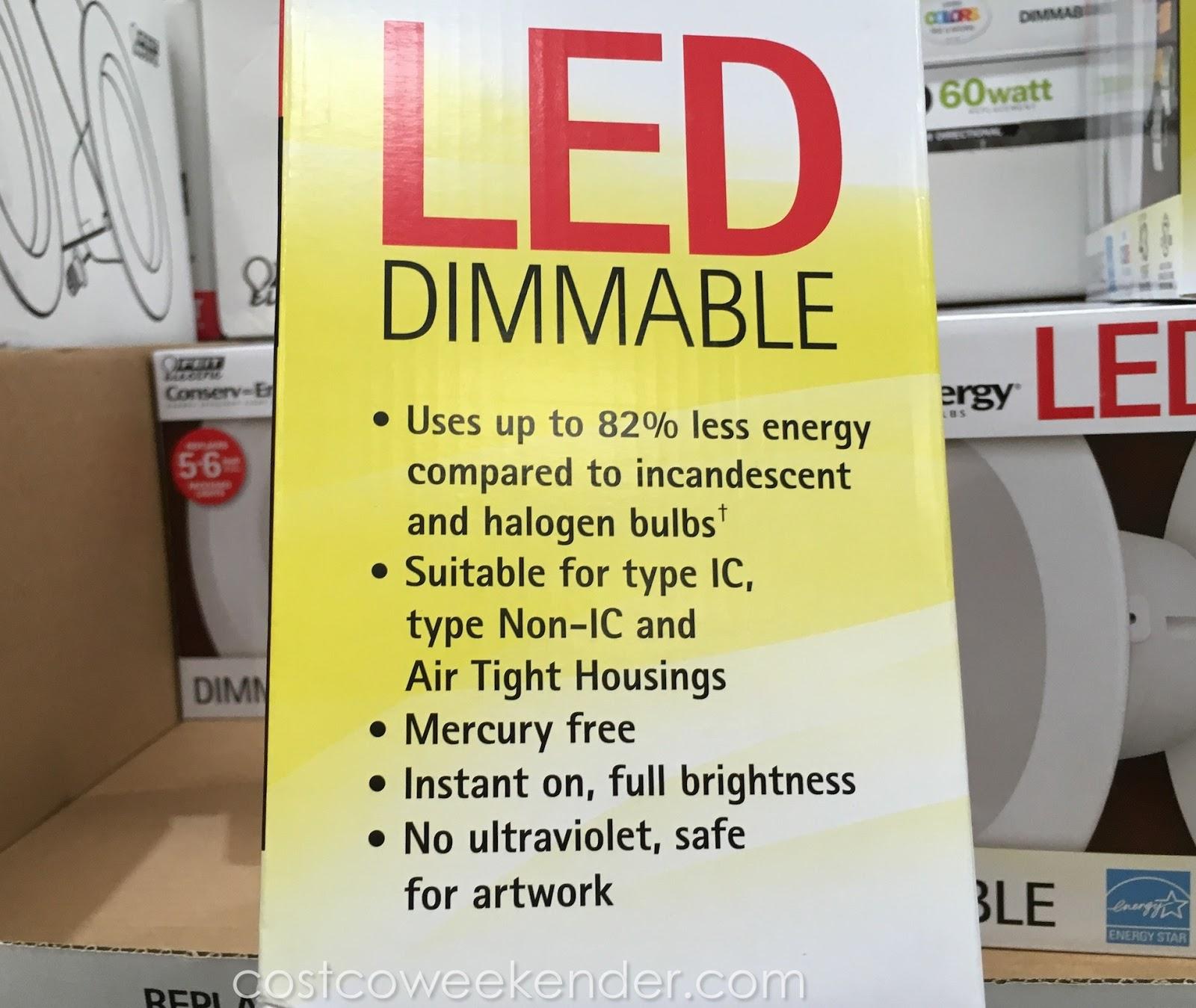 Feit Electric LED 6-inch Retrofit Kit (2 pack)   Costco