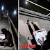 Isang Estudyante, Matiyagang Nagsasagot ng Module sa Footbridge Upang Sumagap ng Libreng Internet!