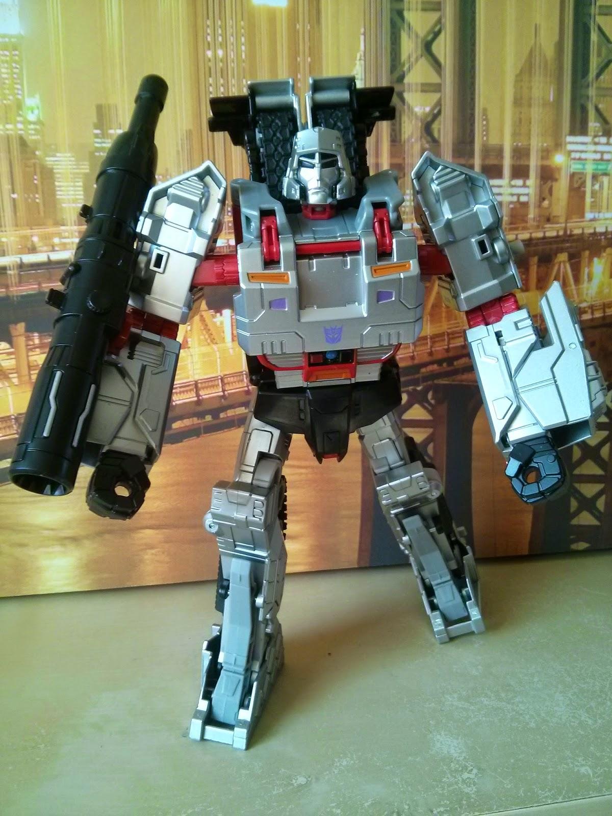 Combiner Wars Megatron articulation