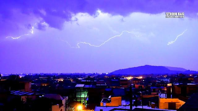 Αστάθεια με βροχές και την επόμενη εβδομάδα στην Αργολίδα (πρόγνωση μέχρι και την Παρασκευή)