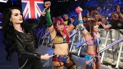 Kari Sane Shirai Asuka Paige WWE Nikki Bliss Cross Women