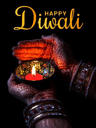 Personalised diwali ecards