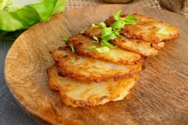 Cheese Potato Pancake