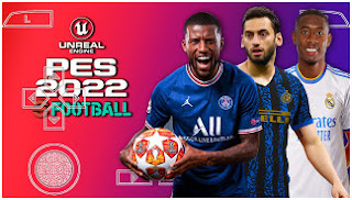 Download PES 2022 PPSSPP Peter Drury Commentary New Transfer & Best Camera PS4 Graphics