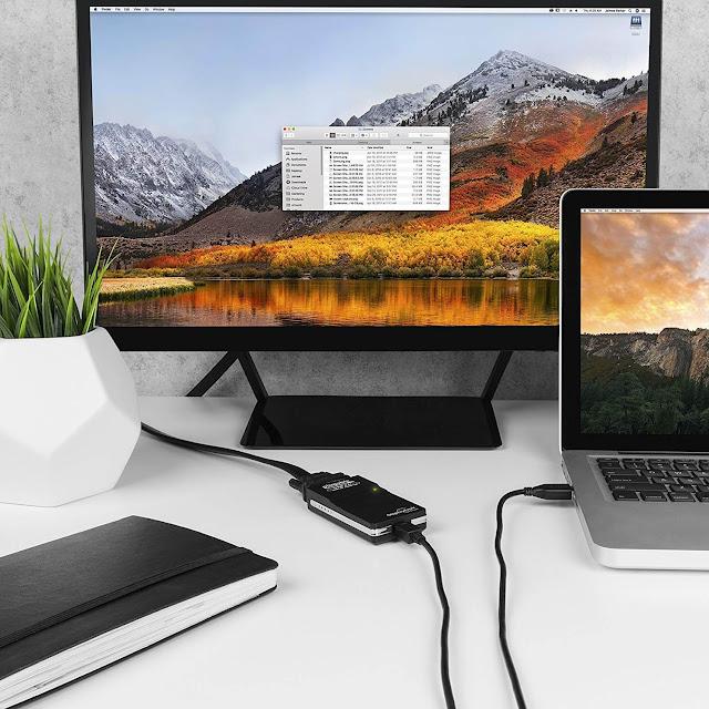 توصيل شاشتين بكمبيوتر واحد