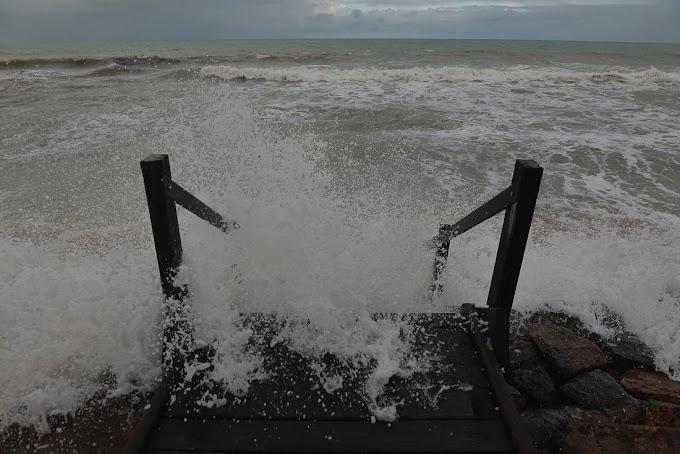 Marinha emite alerta de ressaca para Litoral de Pernambuco; ondas podem chegar a até 3,5 metros