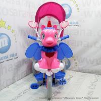Sepeda Roda Tiga Family F993GT Unicorn Kanopi