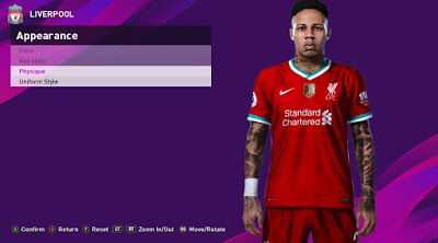 PES 2020 Faces Nathaniel Clyne by Rachmad ABs
